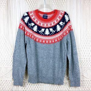 American Eagle Fairisle Seriously Soft Sweater